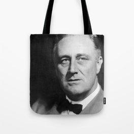 President Franklin Delano Roosevelt Tote Bag