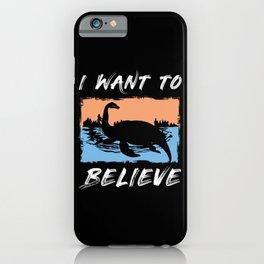 Myth Loch Ness iPhone Case