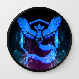 Team Mystic. Wall Clock