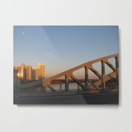 BU Bridge Metal Print
