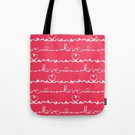 Love me tight Valentines Tote Bag