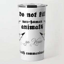 TENTH COMMANDMENT Travel Mug