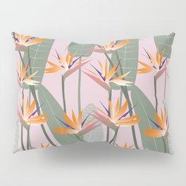 Bird of Paradise - pink Pillow Sham