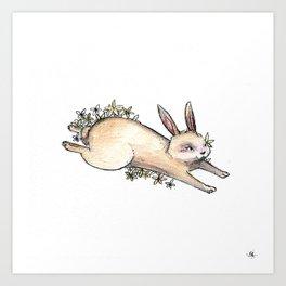 Chinese Zodiac: Rabbit Art Print