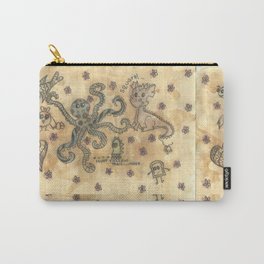 Silly Octopus Carry-All Pouch