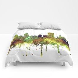 Buffalo, New York Skyline - SG Safari Buff Comforters