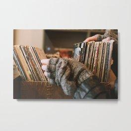 Vinyl Dreams Metal Print