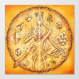 Transmutation Codes Canvas Print
