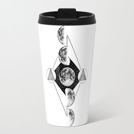 Moon phases Travel Mug