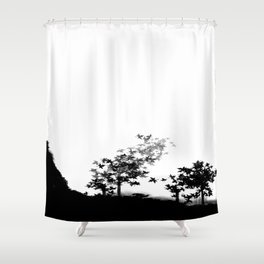 Getting home Shower Curtain