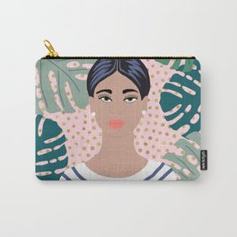 The Tropical Girl Carry-All Pouch