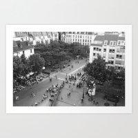 Streets of Paris IV Art Print