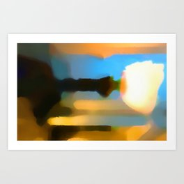 Paradigm Drift Art Print