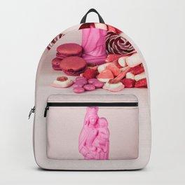 Sweet pink doom - still life Backpack