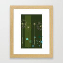 Isolate Verdancy Framed Art Print
