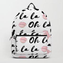 Oh la la Backpack