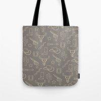 western Tote Bags featuring WESTERN by Brukk