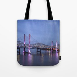 Lincoln Bridge Louisville, KY Tote Bag