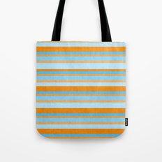 Something Fishy Stripes. Tote Bag