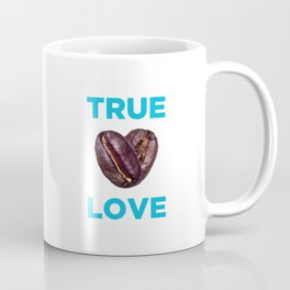 Coffee Is Love - Blue Coffee Mug