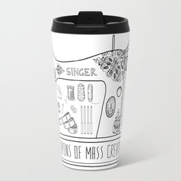 Weapons Of Mass Creation - Sewing Travel Mug