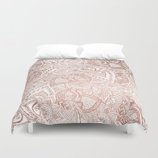 floral duvet covers nz chic hand drawn rose gold mandala pattern canada red cover king vintage floral duvet cover