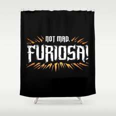 Not Mad Shower Curtain