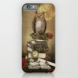 The Bibliophile - (the lover of books) iPhone Case