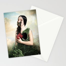 Nobody Knows It Stationery Cards