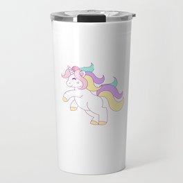 The Prettiest Unicorns Are Born In July Travel Mug