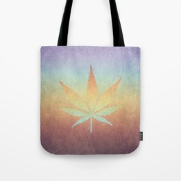 Cannabis sativa Tote Bag