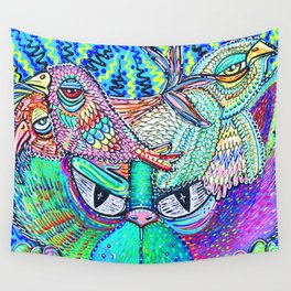 Psychedelic Vision Wall Tapestry