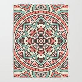 Batik Style 10 Poster