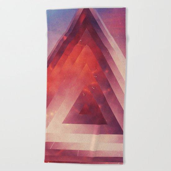 Triangled Too Beach Towel