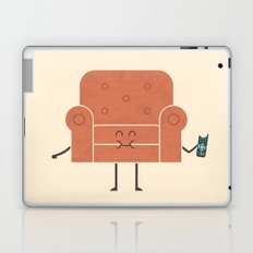 Couch Snack Laptop & iPad Skin
