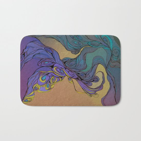 Magic Smoke Bath Mat