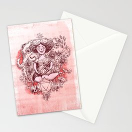 Root Chakra - Witches of the Nine Worlds Stationery Cards