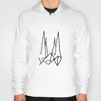 starfox Hoodies featuring The Ship by Tobias Bowman