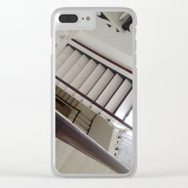 Endless Stairway Clear iPhone Case