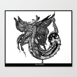 The Firebird Canvas Print