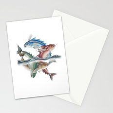 INKYFISH - Jumping Fish Stationery Cards