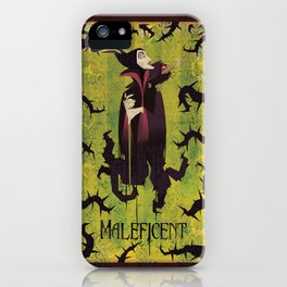 Maleficent iPhone Case