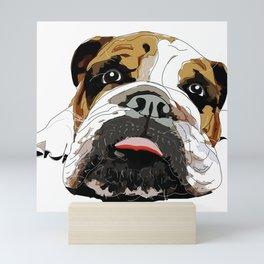 English Bulldog Mini Art Print