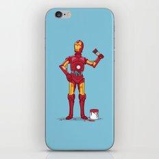 Iron Droid Variant iPhone & iPod Skin