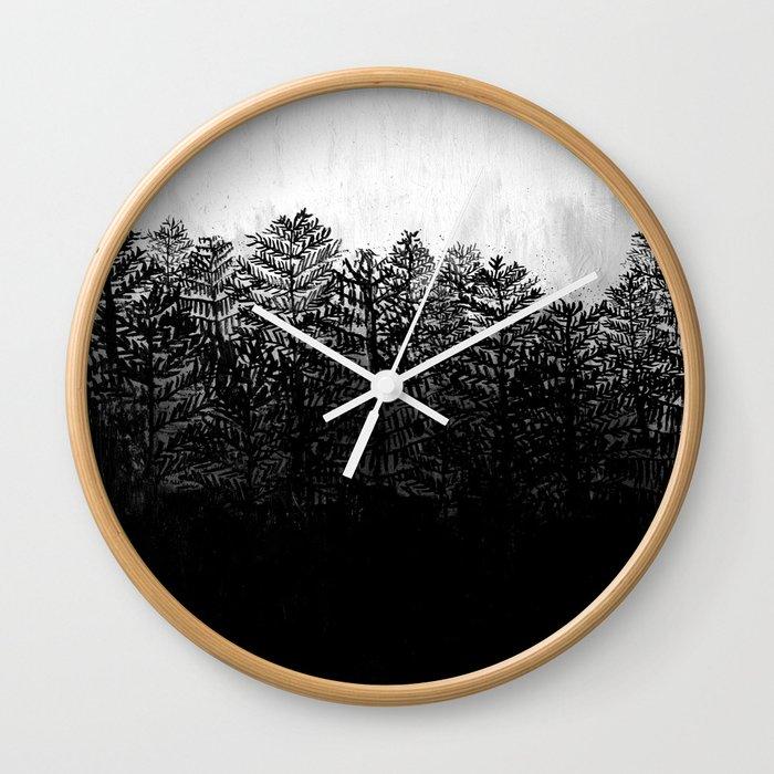 Nocturne No. 4  Wall Clock