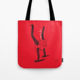 Growing A Tail Tote Bag