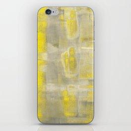 Stasis Gray & Gold 2 iPhone Skin