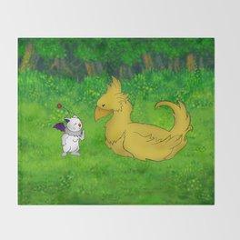 Final Friendship Throw Blanket