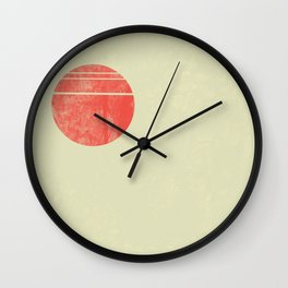 Blood Moon Monday Wall Clock