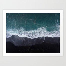 Lanzarote volanic island Art Print